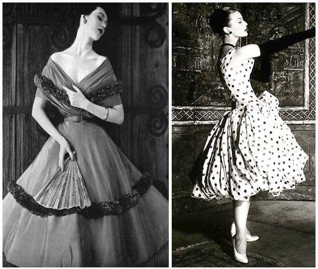 vestiti tipici anni 50
