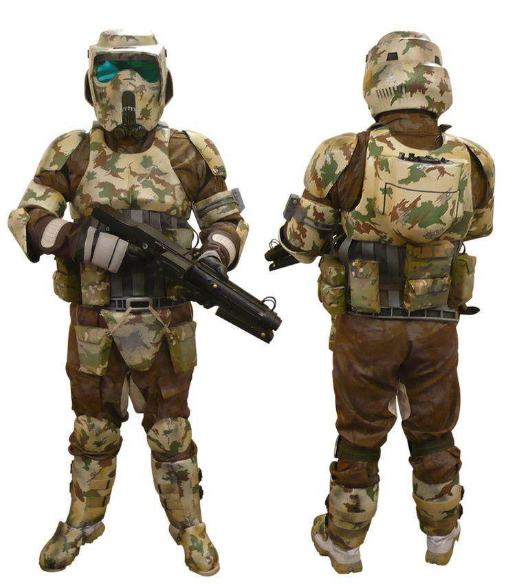 Kashyyyk Trooper 501st Legion Reference Guide