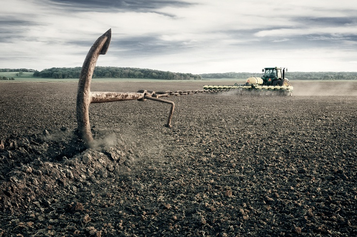 Syngenta.  Agency:      Martin Williams Advertising  Photographer:      Randal Ford. See how this image was built up at:https://vimeo.com/49012739 #tractor #farming #photography