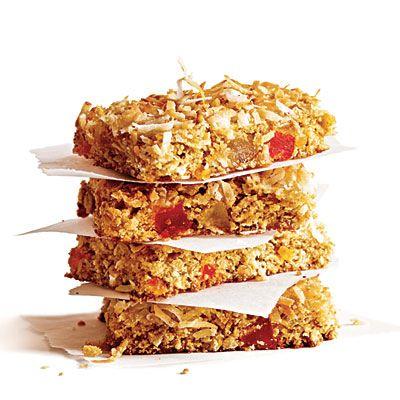 Chewy Coconut Granola Bars | CookingLight.com