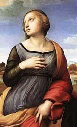 St Catherine. Raphael, 1507