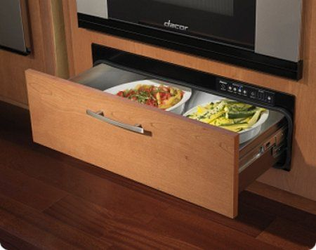 Dacor Renaissance Integrated Warming Drawer With 500 Watt Heating Element,  4 Timer Settings Plus Infinite Mode, Blue LED Light Indicator And Requires  Custom ...