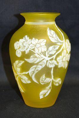 Antique Webb Cameo Glass Vase