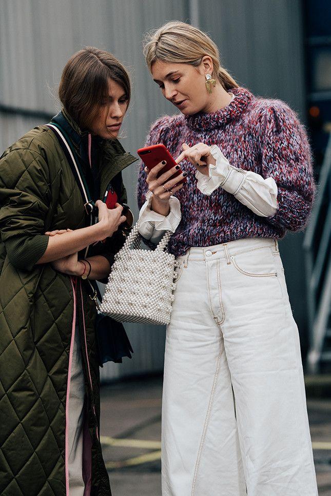 Уличный слить: фото модных образов с Недели моды в Копенгагене | Мода | STREETSTYLE | VOGUE
