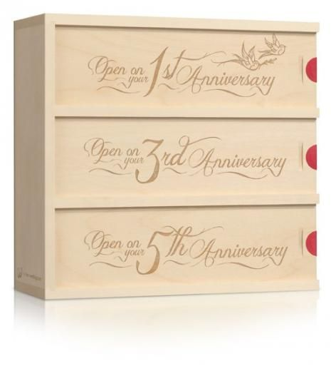 LOVE BIRDS ----------Birds of a feather flock together - and these two found each other.  $89Wine Gift, Wedding Anniversary, Anniversaries Gift, Gift Ideas, Cute Ideas, Unique Wedding, Wine Bottle, Wine Boxes, Wedding Gifts