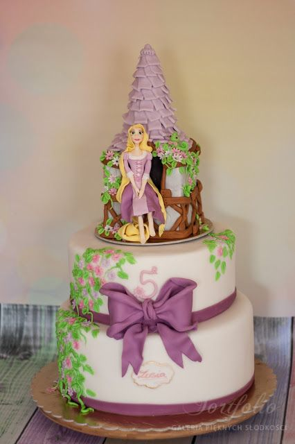my Rapunzel cake - for my sweet Sofia