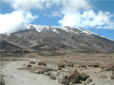 sopka Klimandžáro