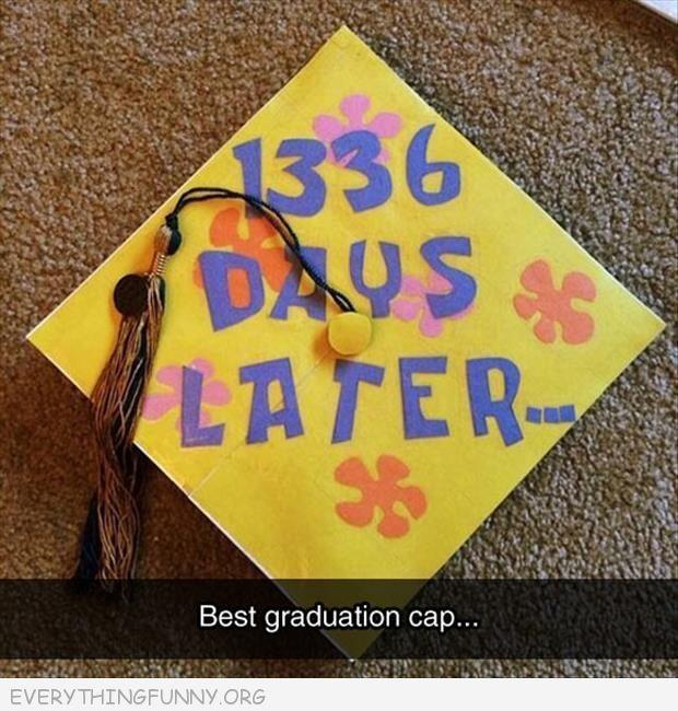 Awesome Spongebob Graduation Cap - #awesome #Cap #Graduation #hoes #Spongebob