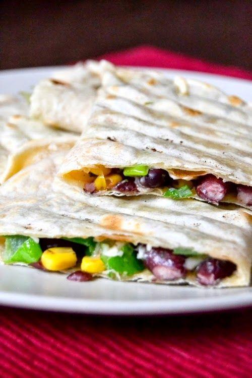 S vášní pro jídlo: Vláčnější tortilly a fazolová quesadilla