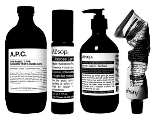 The Australian Aesop product are available online or at Senteur d'ailleurs…