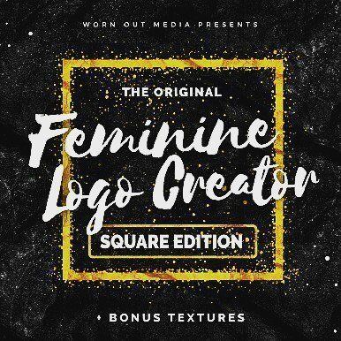 designeour:    Feminine #Logo Creator Square Edition by...