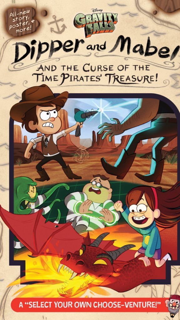 THERES GONNA BE A NEW GRAVITY FALLS BOOK OUT THIS SUMMER!