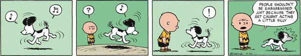 Peanuts Begins Comic Strip, August 26, 2016     on GoComics.com