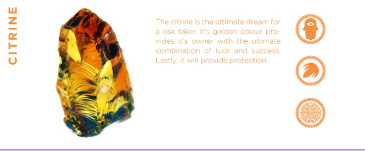 The Citrine - A gemstone of Protection, Success and Luck