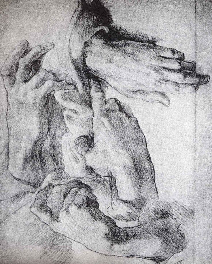 Hands by Michelangelo
