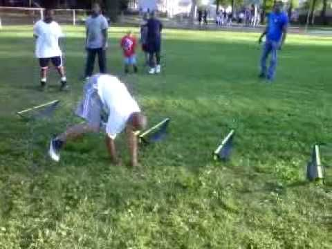 YOUTH FOOTBALL DRILLS