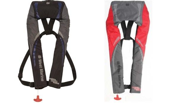 11 best pfd reviews images on pinterest kayaking kayaks for Best inflatable life vest for fishing
