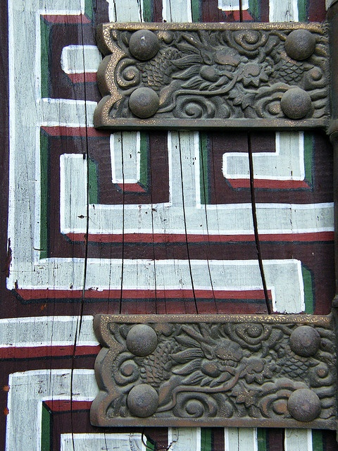 xxx ~ Korean hinges- love the patterned door and hinges. & 77 best IRON HINGES AND HARDWARES images on Pinterest | Lever door ...