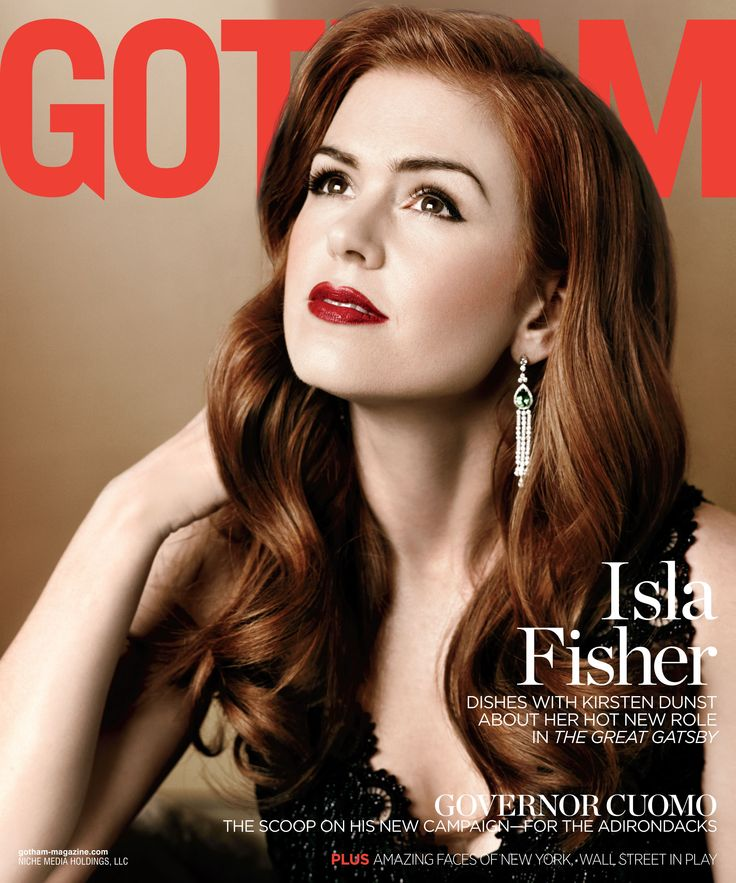 """Isla Fisher on """"Incredible"""" Motherhood and """"Important Collaborations"""" With Her Husband   Get her Gotham interview here!"""