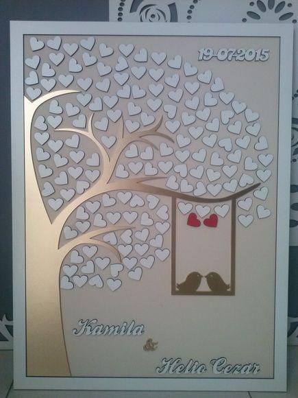Quadro Árvore de Assinaturas Casamentos