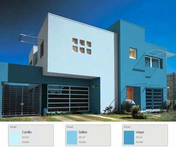 Mejores 59 im genes de exteriores en pinterest paletas for Colores elegantes para exteriores