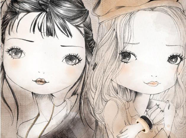 Ilustración del ilustrador Luciana Feldchtein de la Agencia de Ilustración Luisannet: www.luisan.net/agencia-ilustracion