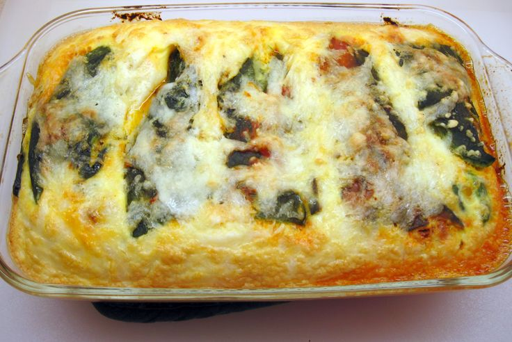 Chile Relleno Casserole with Chorizo---This one for Christmas Brunch