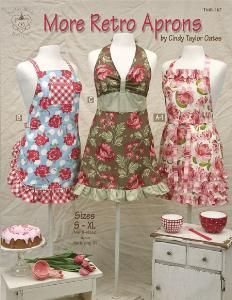 Amazon.com: Taylor Made Designs Patterns-More Retro Aprons: Arts, Crafts & Sewing