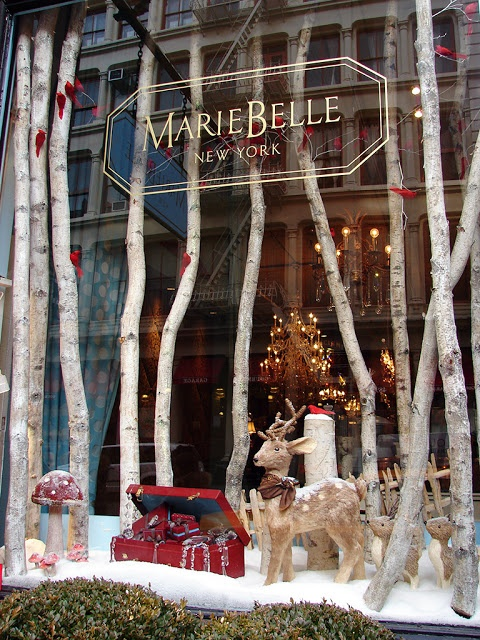 Beautiful Window Displays!: mariebelle                                                                                                                                                                                 More