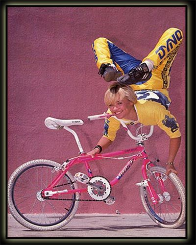 Krys Dauchy - GT BIkes Freestyle Team '87