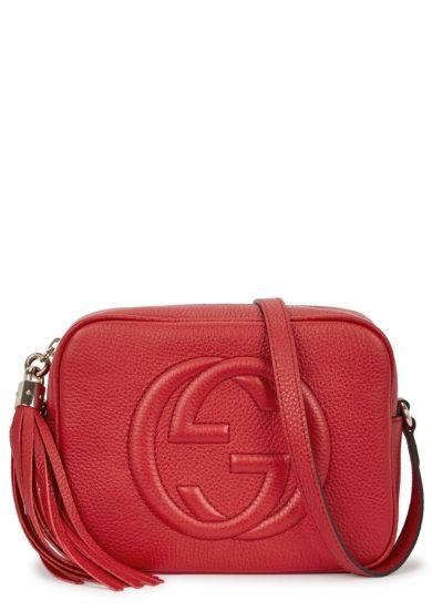 a9d1112d4ca5 Gucci Soho small leather cross-body bag - Harvey Nichols