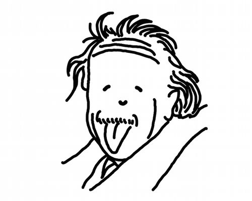 今週のとんぼせんせい「アルベルト・アインシュタイン」