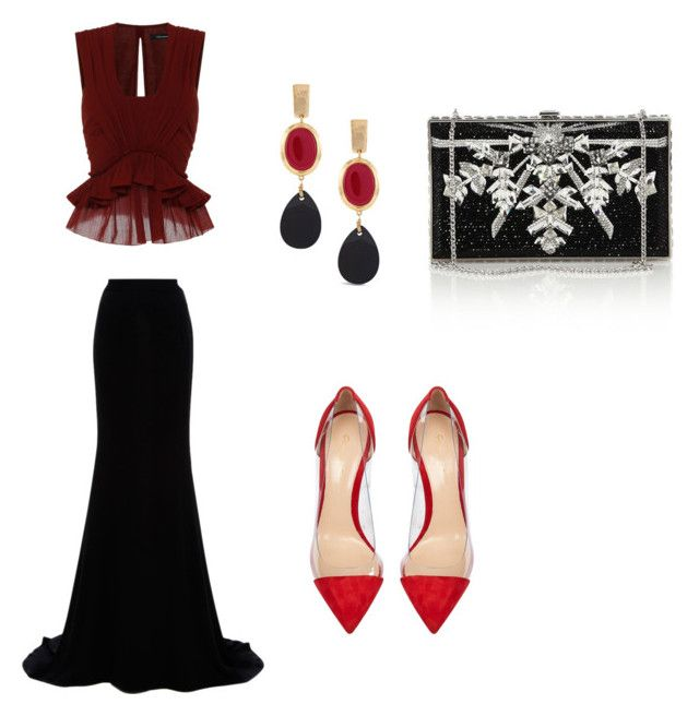 """""""h.k"""" by hanika15 on Polyvore featuring Isabel Marant, Naeem Khan, Gianvito Rossi, Judith Leiber, Chico's, women's clothing, women's fashion, women, female and woman"""