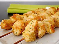 Spiedini di pollo panati al forno | Mastercheffa