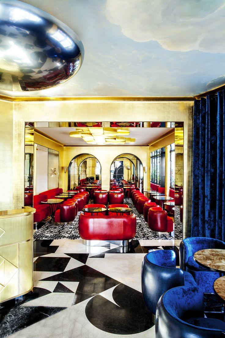 Hospitality Projects by India Mahdavi http://hotelinteriordesigns.eu/best-hospitality-projects-by-india-mahdavi/ #best #hotel #interior #design