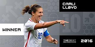 Blog Esportivo do Suíço:  Marta perde prêmio de melhor jogadora para norte-americana Loyd