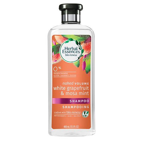 Herbal Essences Bio: Renew Naked Volume Shampoo and Conditioner in White Grapefruit and Mosa Mint