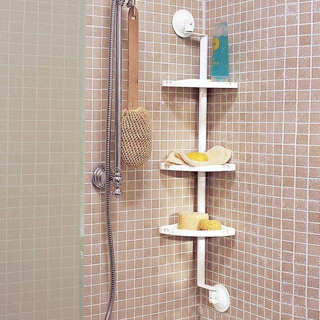 Estanter a de ngulo para ba era o ducha test for Estanterias ducha bano