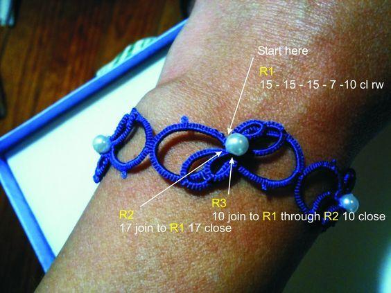 ANKARS  Bracelet instructions: