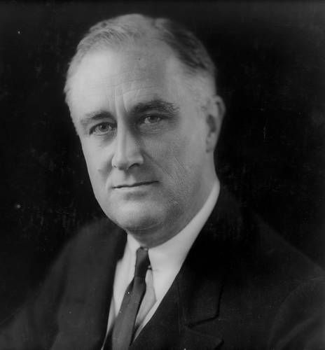 April 11, 1945, President Franklin D. Roosevelt dies of a cerebral hemorrhage and Harry S. Truman becomes the 33rd U.S. president.