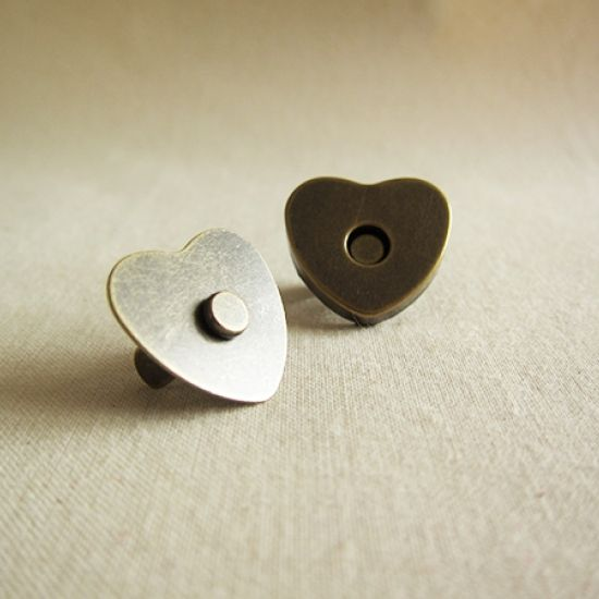 Heart Magnetic Clasp