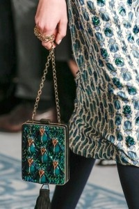 Bugs and beetles weren't so unpleasant on Tory Burch's runway  at New York Fashion Week.