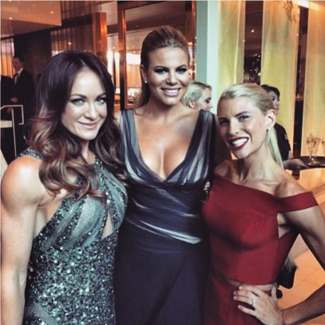 Australia's Biggest Loser Host Fiona Falkiner spray tan by Stacey McPherson with JBronze