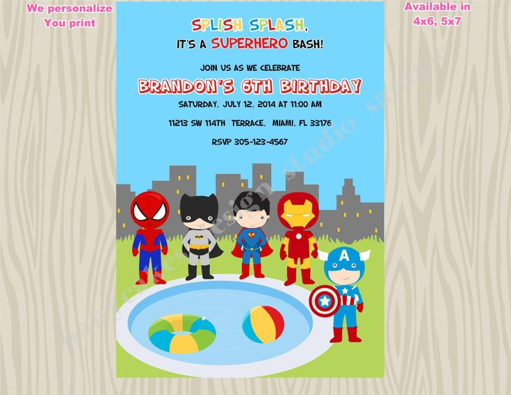 Best 25+ Pool party birthday ideas on Pinterest Swimming party - pool party invitation
