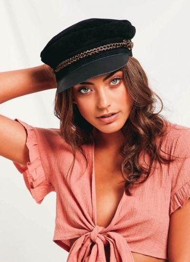 Kayla Cap - Black