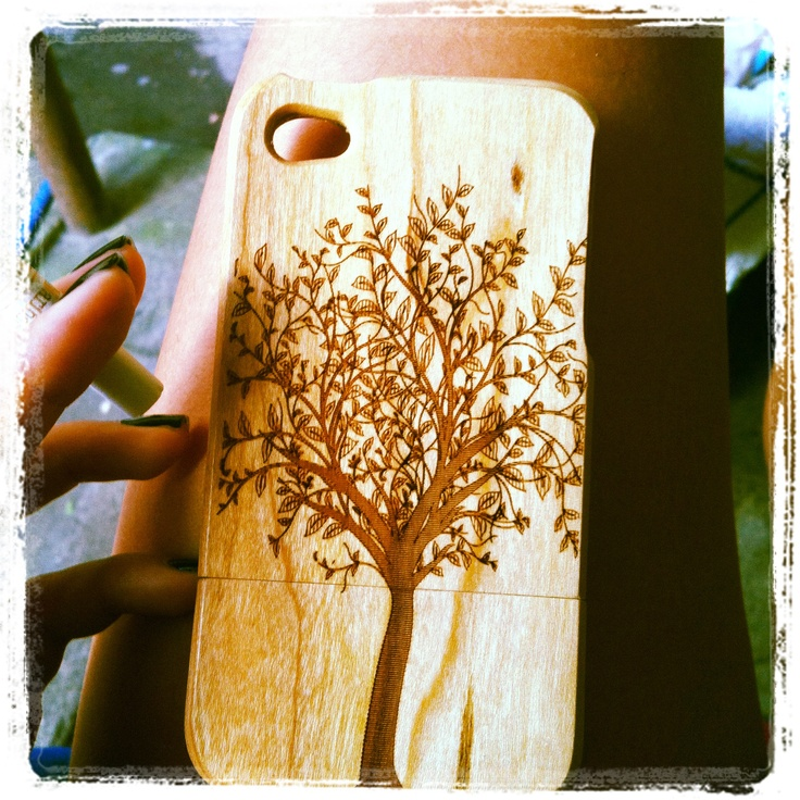 Wood iPhone case I bought in Mong Kok.