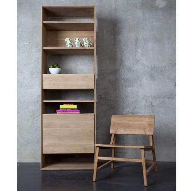 Ethnicraft Oak Nordic Bookcase