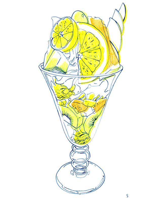 Bright colour illustration