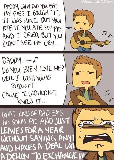 DEAN IS THE VAMPIRE QUEEN I AM DONE. ADVENTURE TIME/SPN Crossover