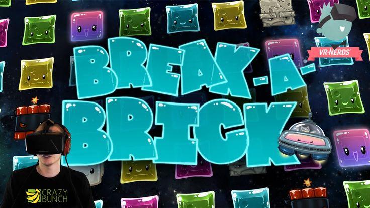 VR-Dings   89   Break A Brick mit dem DK 2 der Oculus Rift [German] #vr #virtualreality #virtual reality